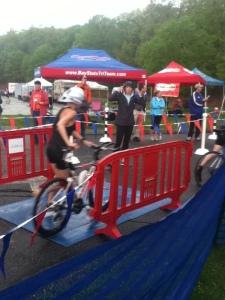 the bike split officially begins here