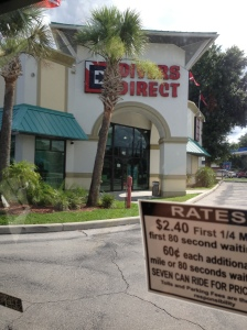 Thank goodness the Diver's Direct on International Drive in Orlando, just a few blocks from the convention center