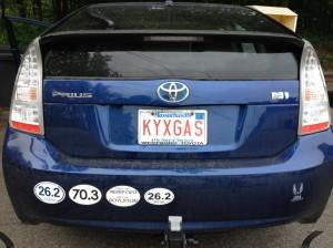 Ceci n'est pas une bumper of an anti-cyclist redneck